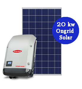 20KW On Grid Solar System